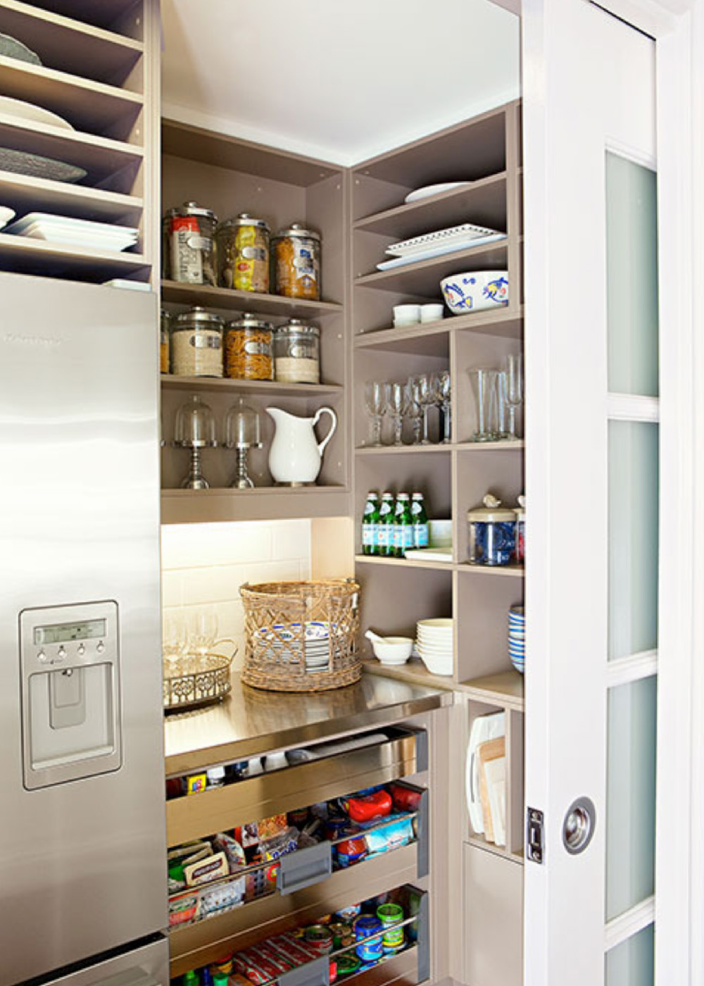 kitchen pantries gloves how to design the perfect butler's pantry - home beautiful