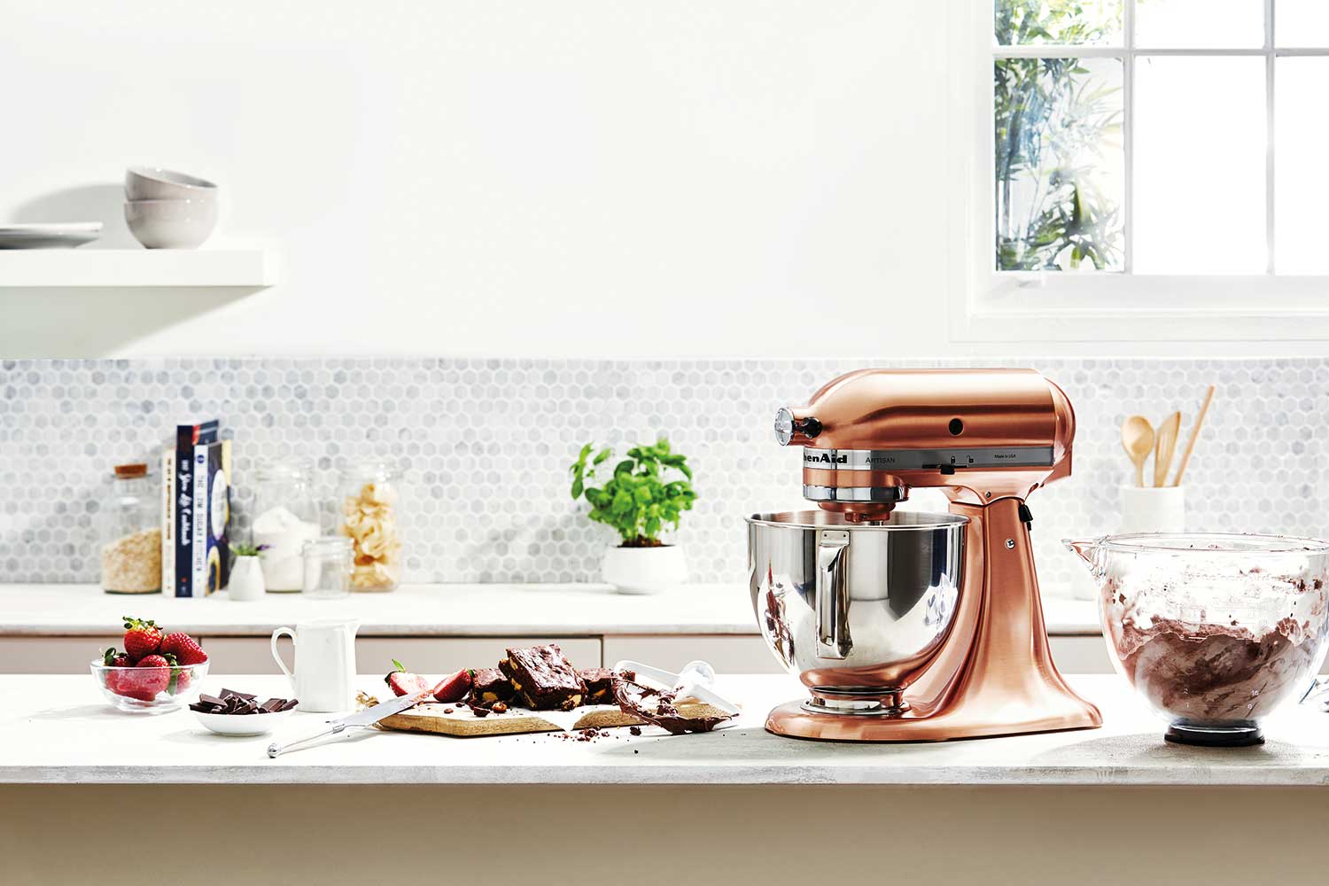 copper kitchen aid cabinets lancaster pa stop everything kitchenaid has released a stand mixer home beautiful magazine australia