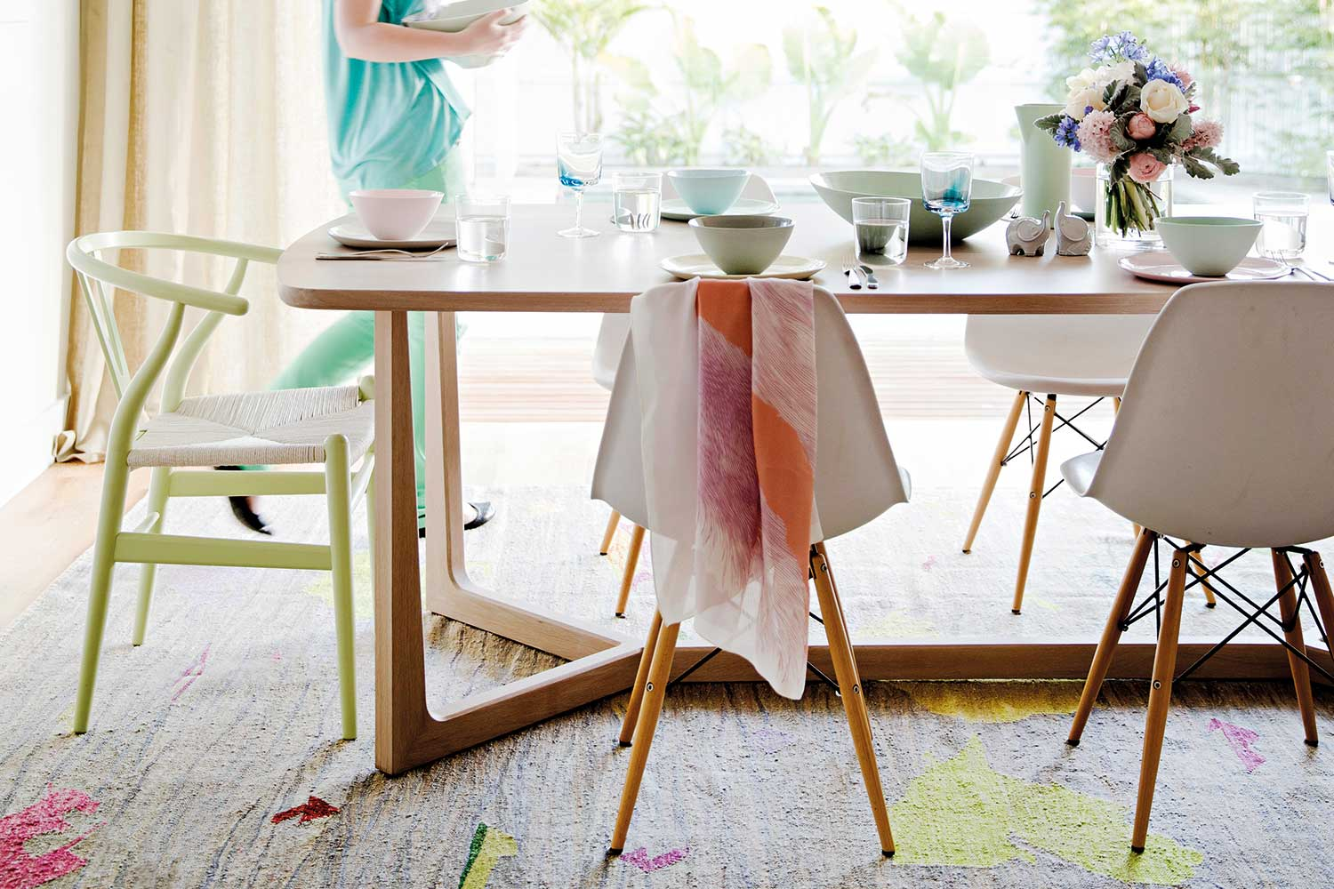 mismatched dining chairs plastic student how to mismatch your on purpose home