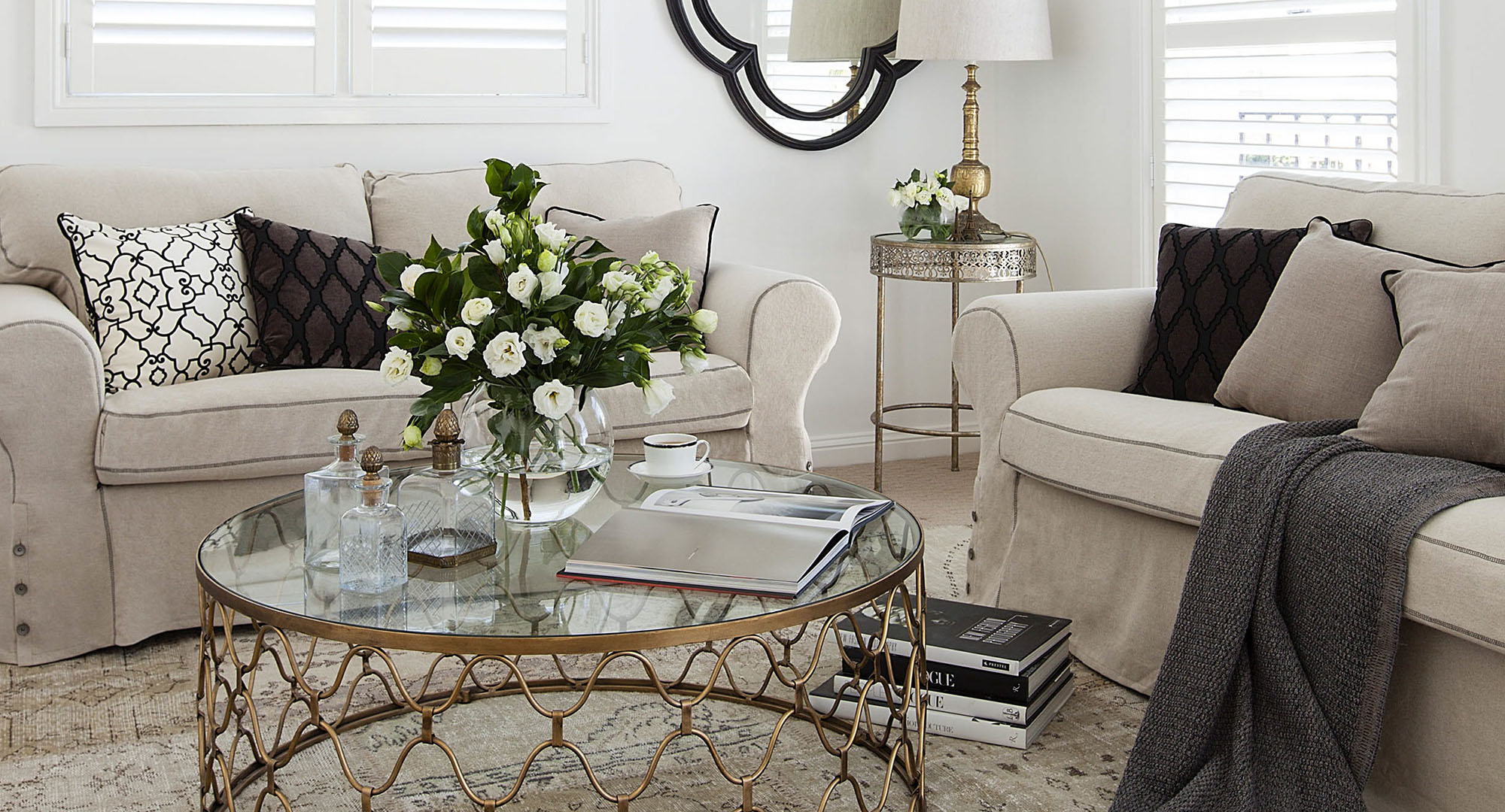 beautiful living room images discount chairs hamptons style makeover home magazine australia