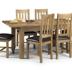 4 Chair Dining Set High Top Table With Chairs Astoria Solid Oak Extending Price 43