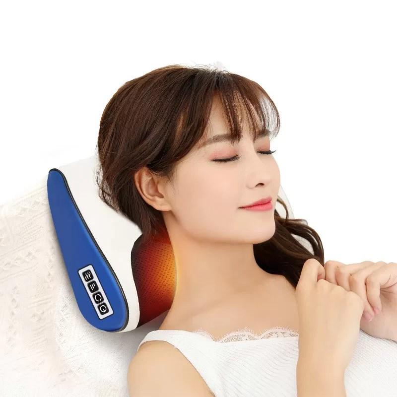 heated neck massager electric back massager
