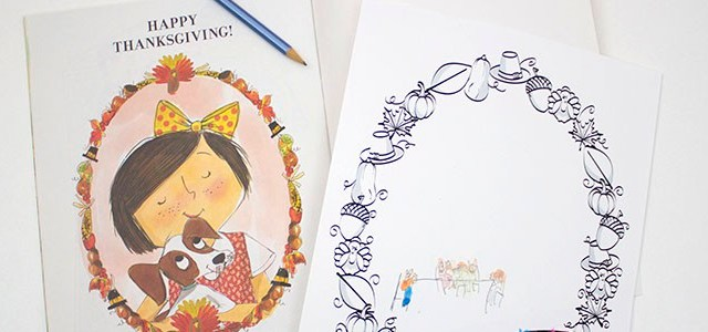 Thanksgiving For Emily Ann Story Time & Printable