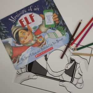 memoirs of an elf book and craft