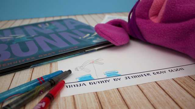 Creative Writing Inspired by 'Ninja Bunny'