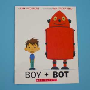 boy + bot front cover