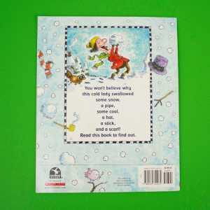 there was a cold lady who swallowed some snow back cover