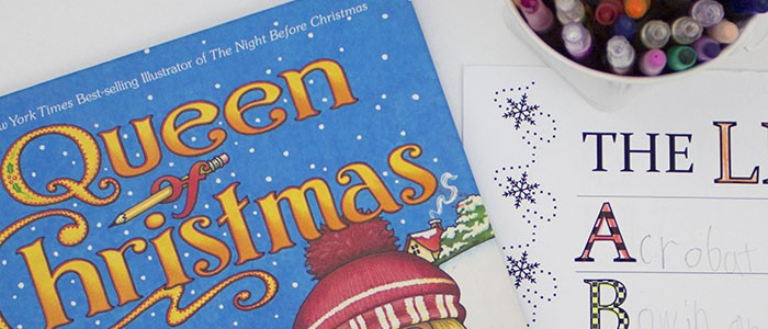 Queen Of Christmas Alphabet List