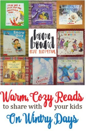 There's nothing better than curling up with your kiddos and a good book or two on a blustery winter day! Check out our suggestions for your next snow-day reading session!.