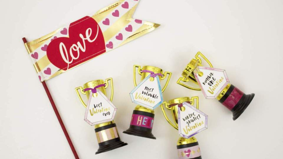 You're The Best! DIY Valentine with Free Printable