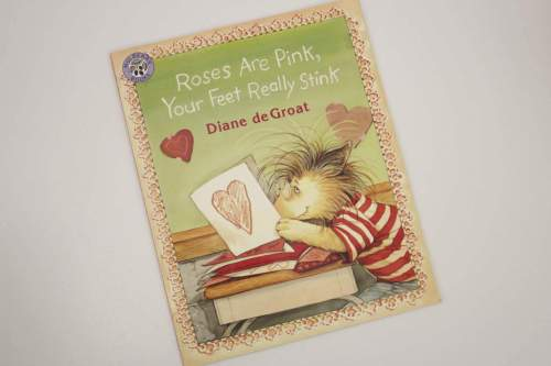 roses are pink your feet really stink book cover
