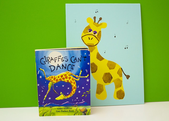 giraffes can't dance book and project