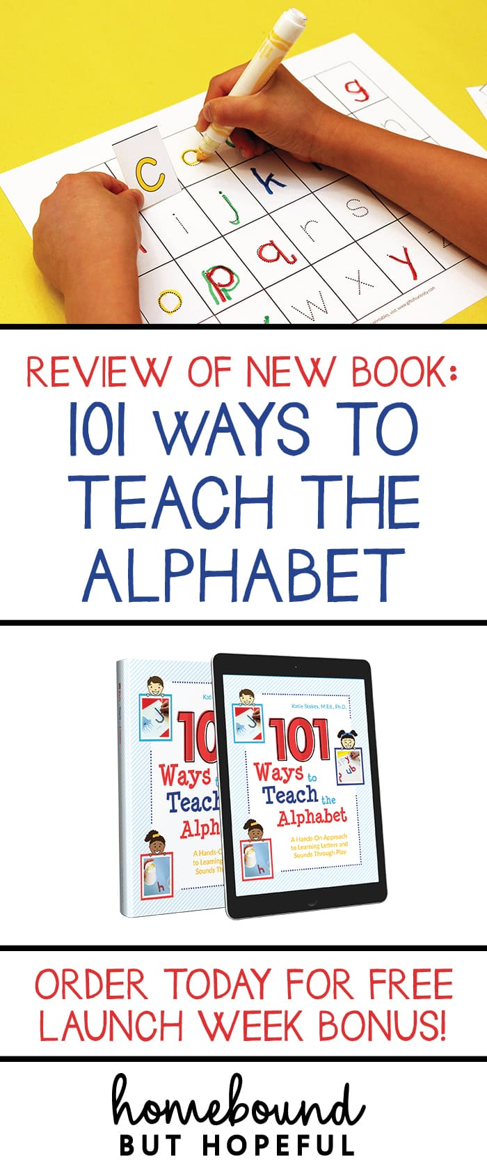 We got an early look at the incredible resource 101 Ways To Teach The Alphabet. This book and printables package is packed full of ideas to help your little ones master their A-B-Cs while having fun! Order during launch week to take advantage of savings and free bonus offers! Early Learning | Early Literacy | Homeschool