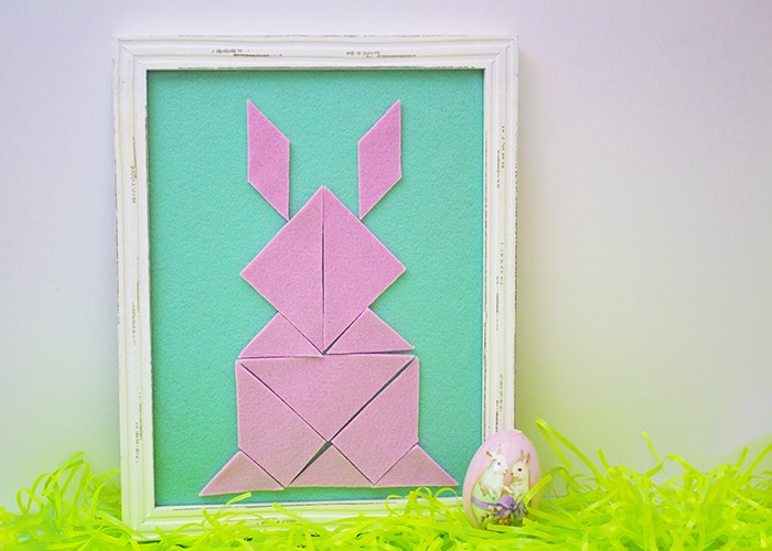 FINISHED EASY SPRING TANGRAMS