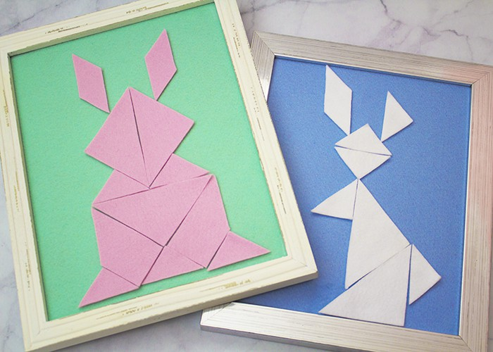 Spring Tangrams: Easy DIY Puzzles In Time For Easter