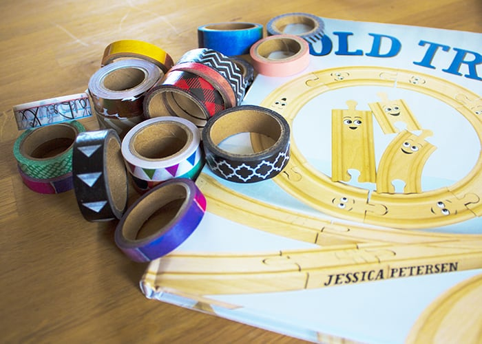 OLD TRACKS, NEW TRICKS WASHI TAPE