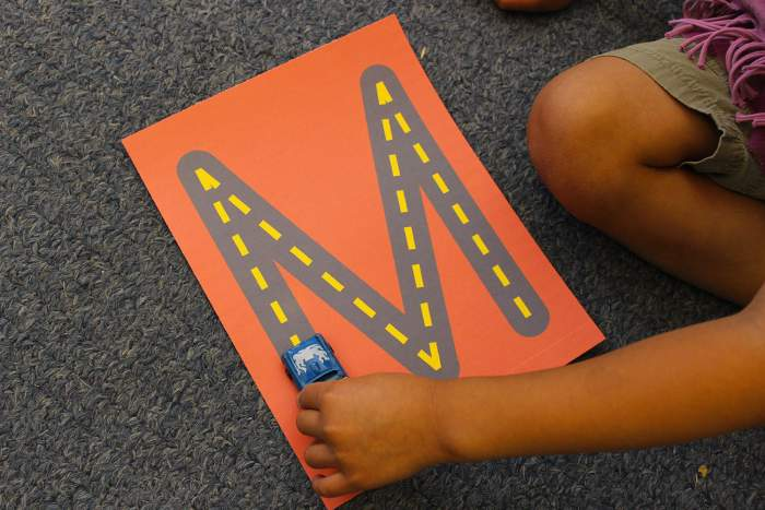101 WAYS TO TEACH THE ALPHABET ROAD