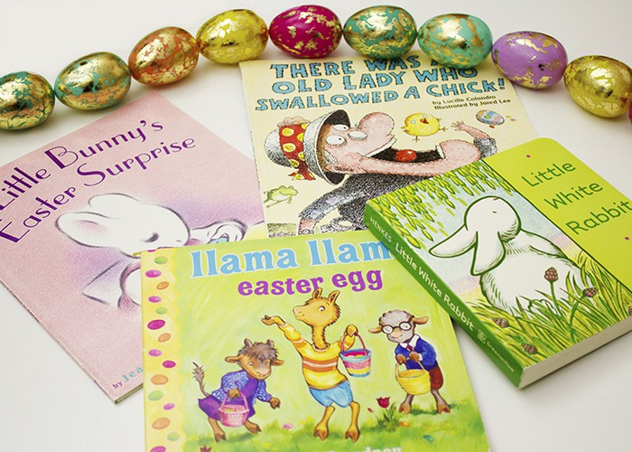 BOOKS TO WELCOME EASTER