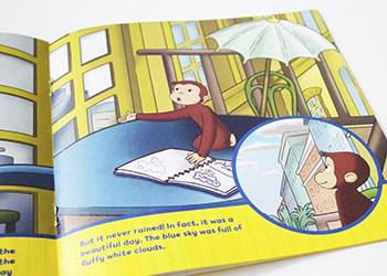 CURIOUS GEORGE RAIN OR SHINE SPRING BOOKS