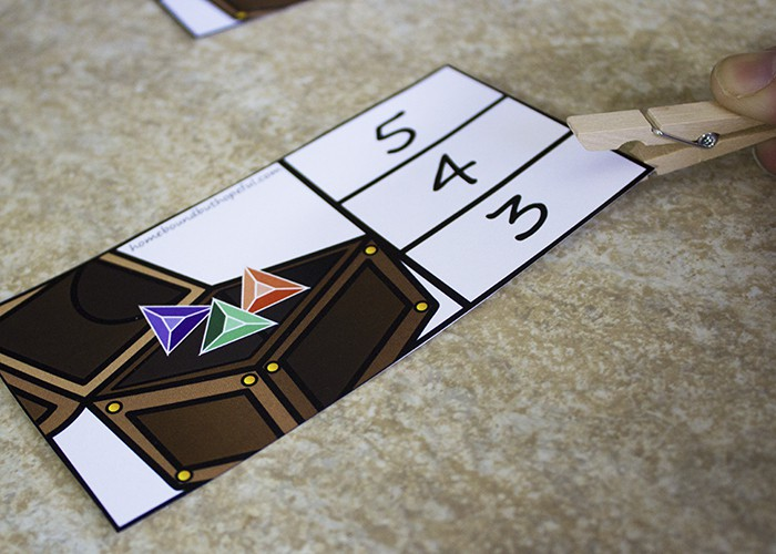 Pirate Math Activity Printable