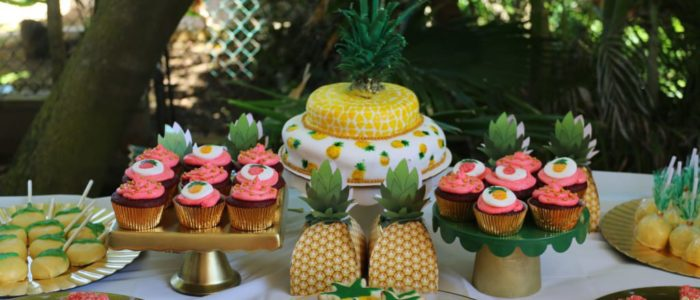 Aloha Botts & Tots Pineapple Of My Eye Shower [Feature]