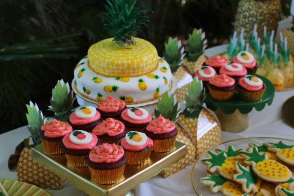 Aloha Botts & Totts | Pineapple Of My Eye Shower | Sweets