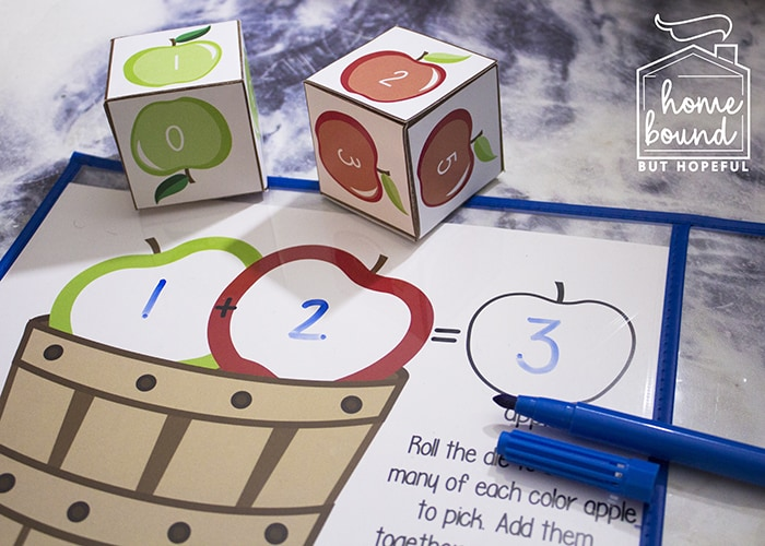 IApple Picking Math | Adding Without Manipulatives