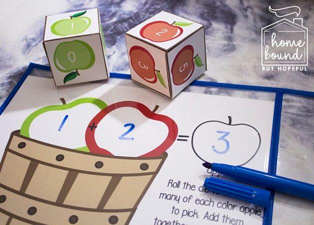 IApple Picking Math | Adding Without Manipulatives
