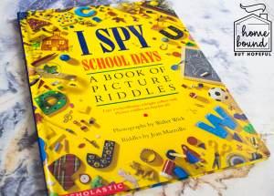 Back To School Book List- I Spy School Days