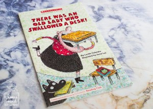 Back To School Book List- There Was An Old Lady Who Swallowed A Desk!