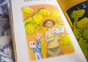 Back To School Book List- Dancing Dinos Go To School