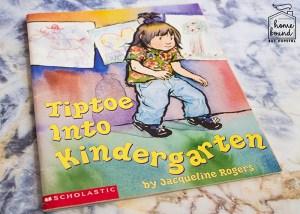 Back To School Book List- Tiptoe Into Kindergarten