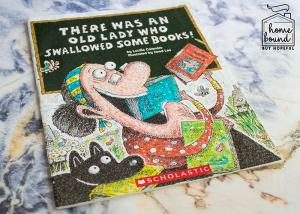 Back To School Book List- There Was An Old Lady Who Swallowed Some Books!