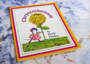 Back To School Book List- Chrysanthemum