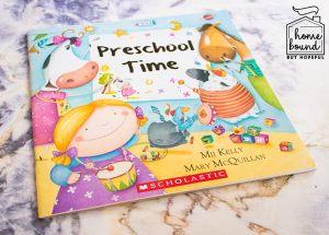 Back To School Book List- Preschool Time