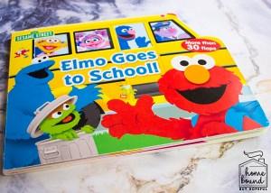 Back To School Book List- Elmo Goes To School!
