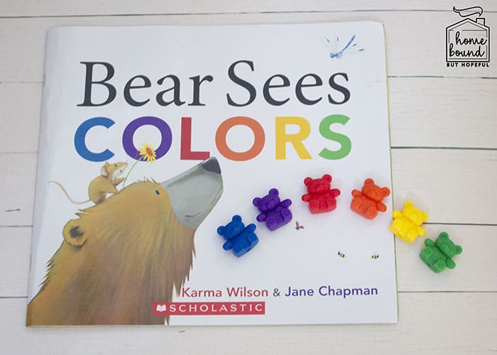 Counting Bears Story Time- Bear Sees Colors