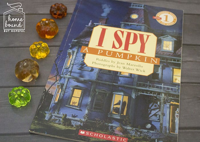 Halloween I Spy- I Spy A Pumpkin Book