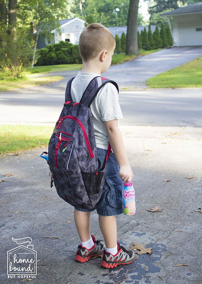 Evening Prep For Easier Mornings- Pack Bags
