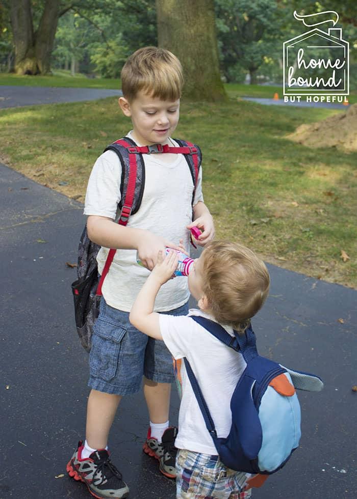 Evening Prep For Easier Back To School Mornings