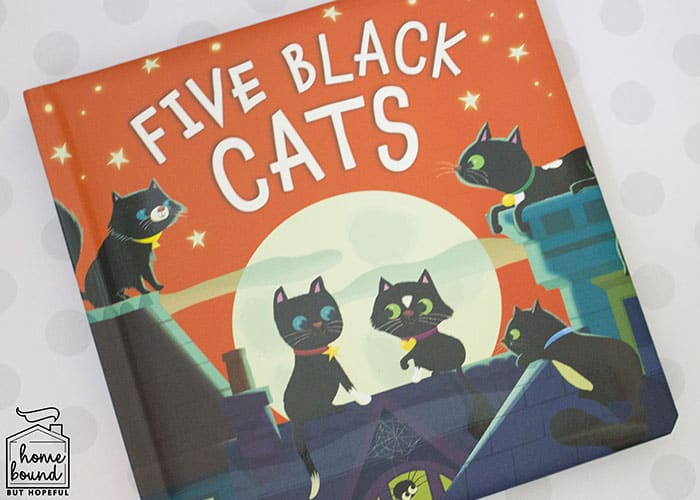 Halloween Counting Board Books- Five Black Cats