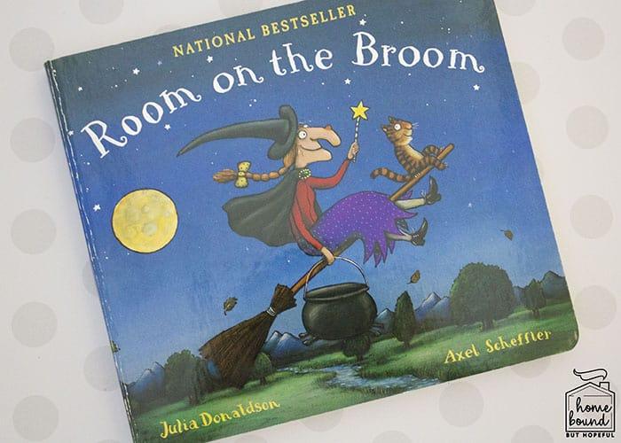 Room On The Broom Fine Motor Craft- Book
