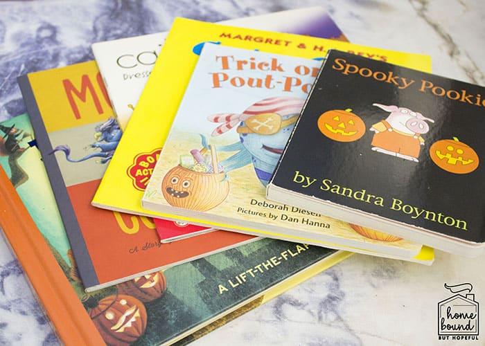 Halloween Costume Story Time- Books