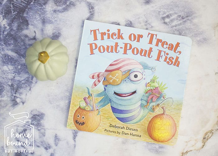 Halloween Costume Story Time- Trick Or Treat Pout Pout Fish