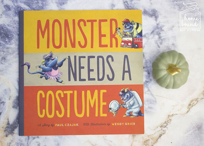 Halloween Costume Story Time- Monster Needs A Costume