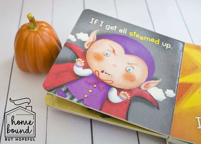 Not So Scary Halloween Book List- I'm A Little Vampire