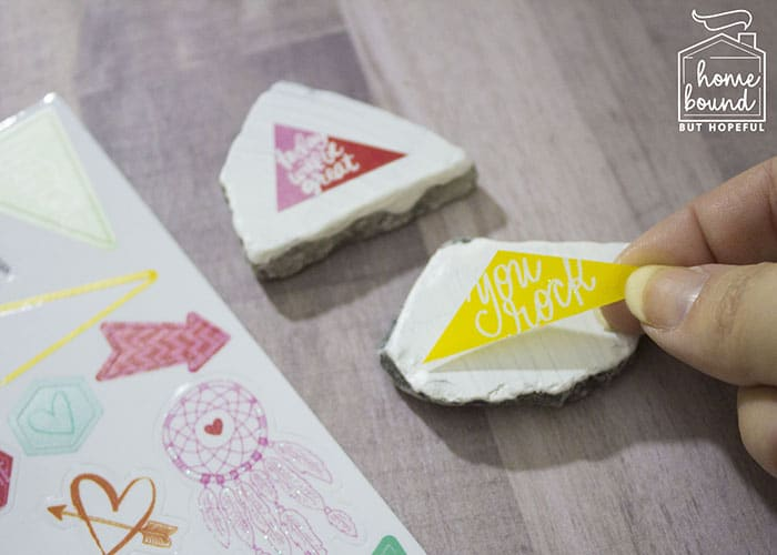 Rock Painting Story Time- Stickers