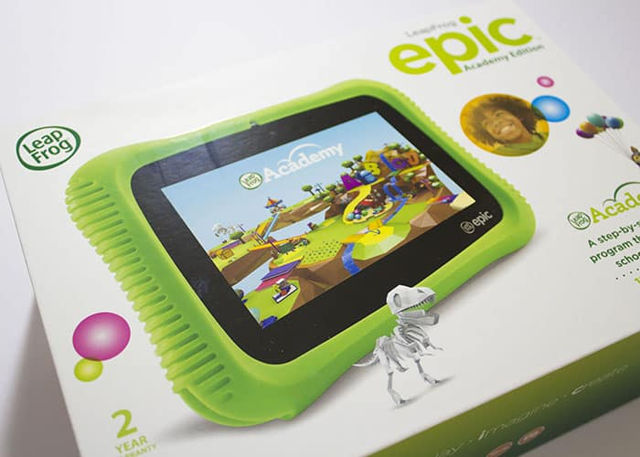 Gamer Gadget Gift Guide- LeapFrog Epic Academy Edition