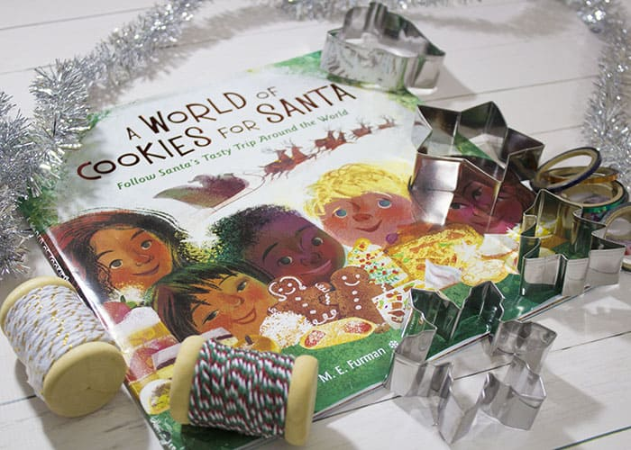 A WORLD OF COOKIES FOR SANTA BOOK