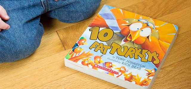 Quick & Easy Thanksgiving Story Time With Ten Fat Turkeys